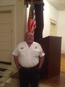 Fire Department Chief Ray Brown
